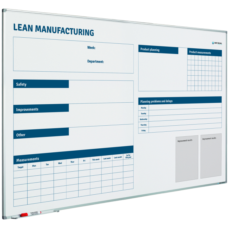 Whiteboard Lean Manufacturing
