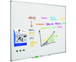 Whiteboard Classic aus lackiertem Stahl