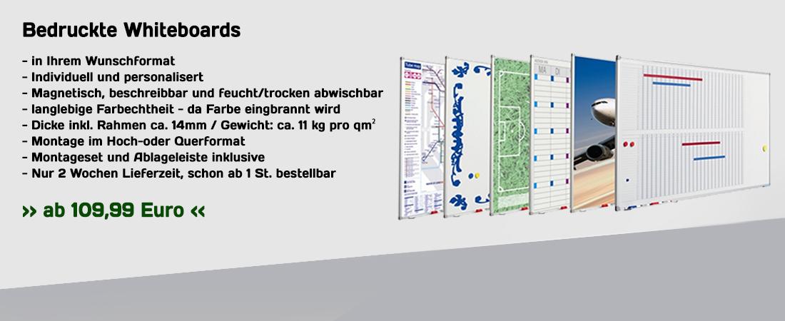 Slide bedruckte Whiteboards